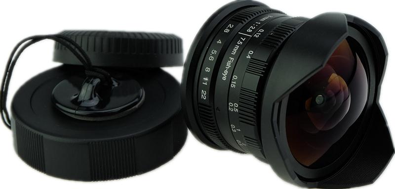 Wesley 7.5mm/8mm F2.8 fisheye lens