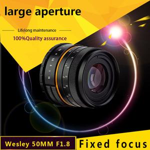 wesley 50mm F1.8 lens WSL 50 1.8 lens