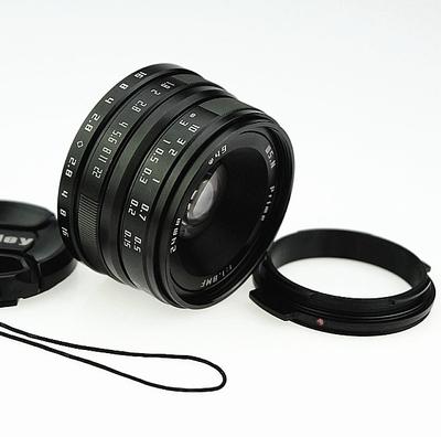 卫斯理24mm F1.8微单镜头 wesley 24 1.8镜头WSL