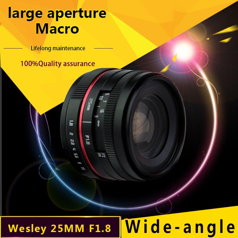 Wesley 25mm F1.8 lens WSL 25 1.8 LENS
