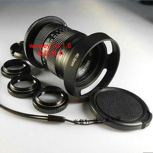 卫斯理 wesley 33mm F1.6 微单镜头33 1.6电影镜头