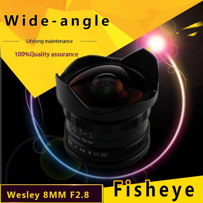 wesley 7.5mm F2.8 fisheye lens 7.5 2.8 WSL